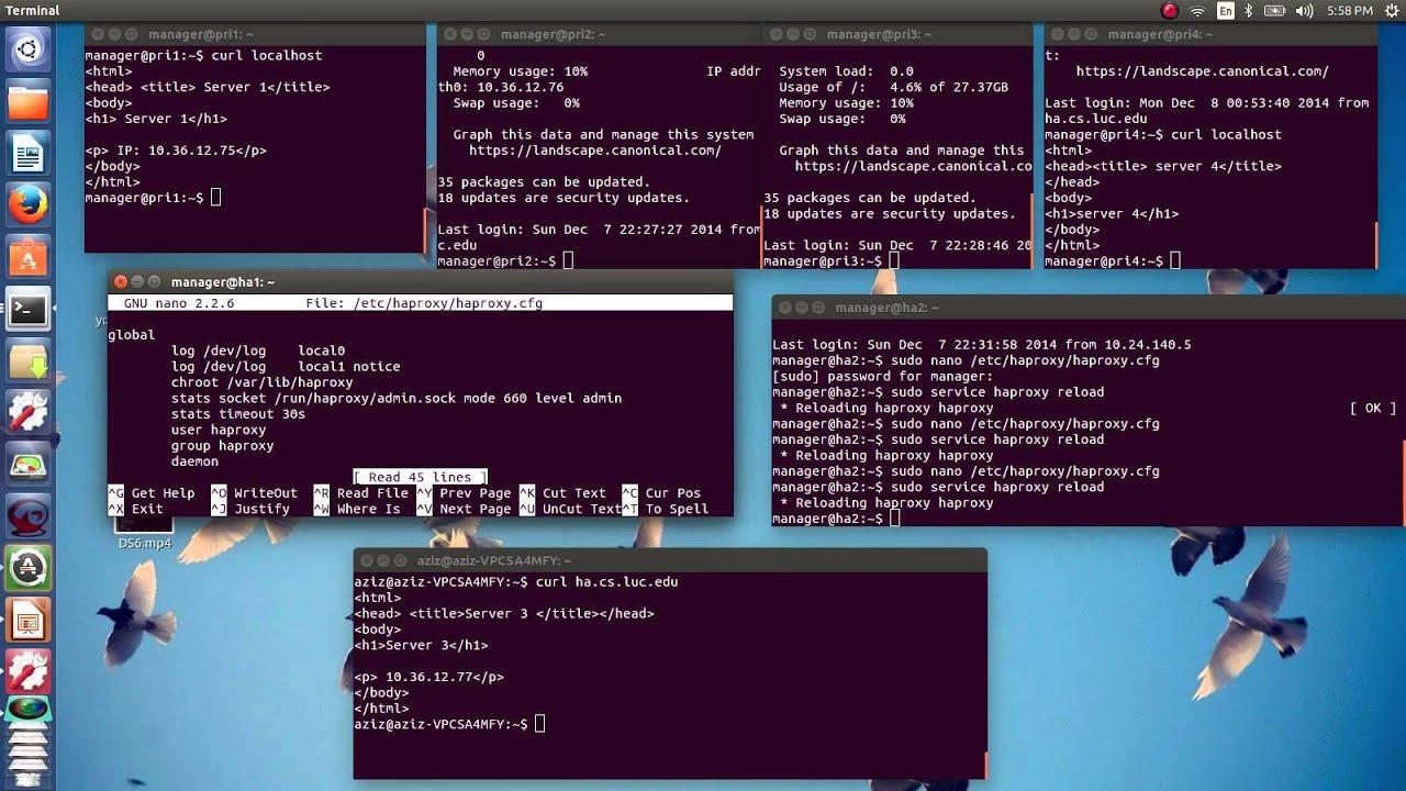 HAproxy configuration and Load balancing 2