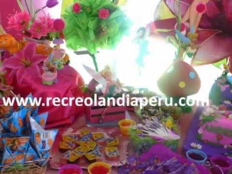 Decoración de las Hadas Disney en Recreolandia - YouTube