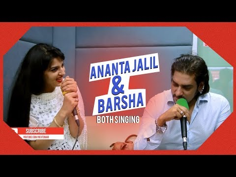 Full Video | ANANTA JALIL & BARSHA | Both Singing | Radio Next 93.2FM