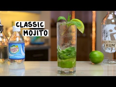 Classic Mojito - Tipsy Bartender