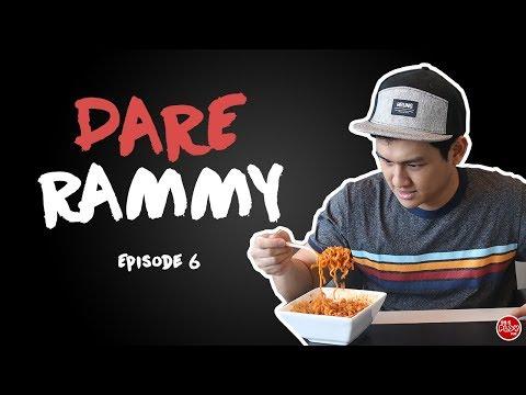 #DareRammy995 | Episode 6: Fire Noodle Challenge While Singing