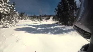 mpi yamaha viper xtx le backcountry maine snowmobiling