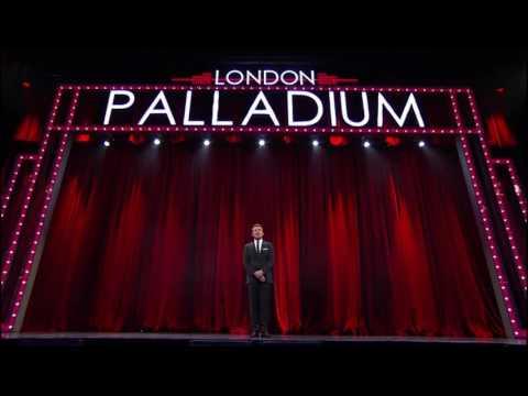 Julian Ovenden singing get Happy at London palladium 2016