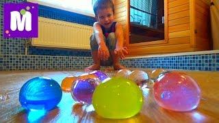 Выращиваем в воде большие шары орбиз Growing in the water big balls orbeez(Выращиваем огромные шарики гидрогеля (Орбиз), играем с большими шарами We grow great hydrogel beads (Orbeez), play with the big balls..., 2015-08-09T09:21:57.000Z)