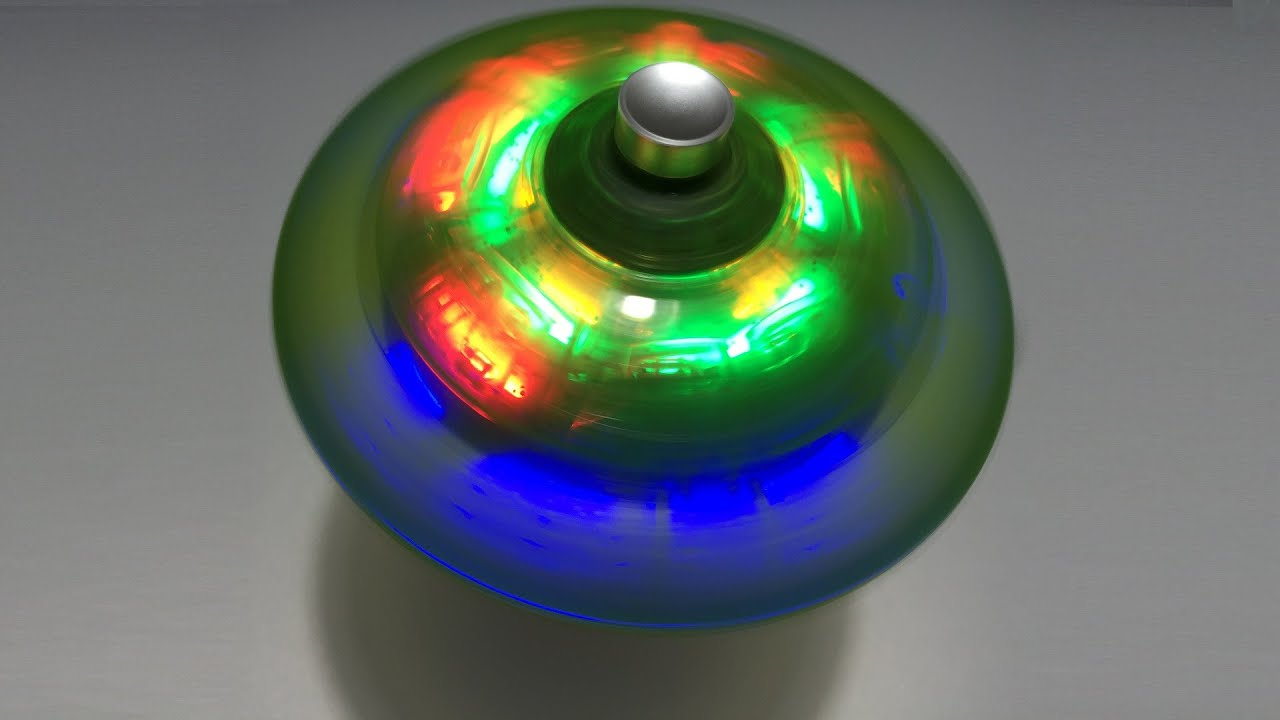 Toy Spinning Top : Spinning top with gyro ইলেকট্রিক লাটিম battery operated