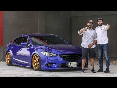 Mazda 6 With MV-TUNING Kits - Review By Suhaib Shashaa (CO Founder ArabGT.com)
