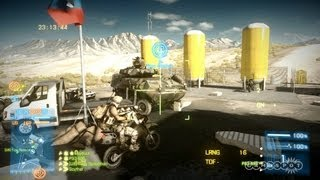 Battlefield 3: End Game - Warehouse Battle and AA Vodnik Gameplay (PS3)