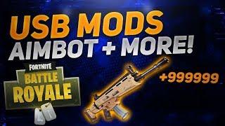 Fortnite: Battle Royale USB MOD MENU   AIMBOT! XBOX, PS4, PC   FORTNITE USB MODS/HACKS 2018