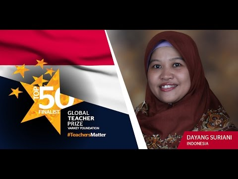 Get to know Global Teacher Prize Top 50 Finalist Dayang Suriani