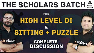 High Level DI + Puzzle For Banking Mains Exam 2021 #TheScholar #Adda247
