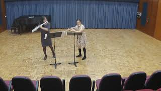 EDWARDS Ecstatic Dances for 2 Flutes | Lilly Yang, Rachel Lau