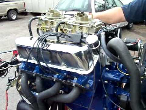 427 Ford Side Oiler First Start Up Youtube