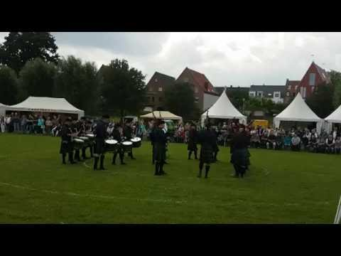The Owl Town Pipe & Drum Band Grade 4 Competition Xanten 2016