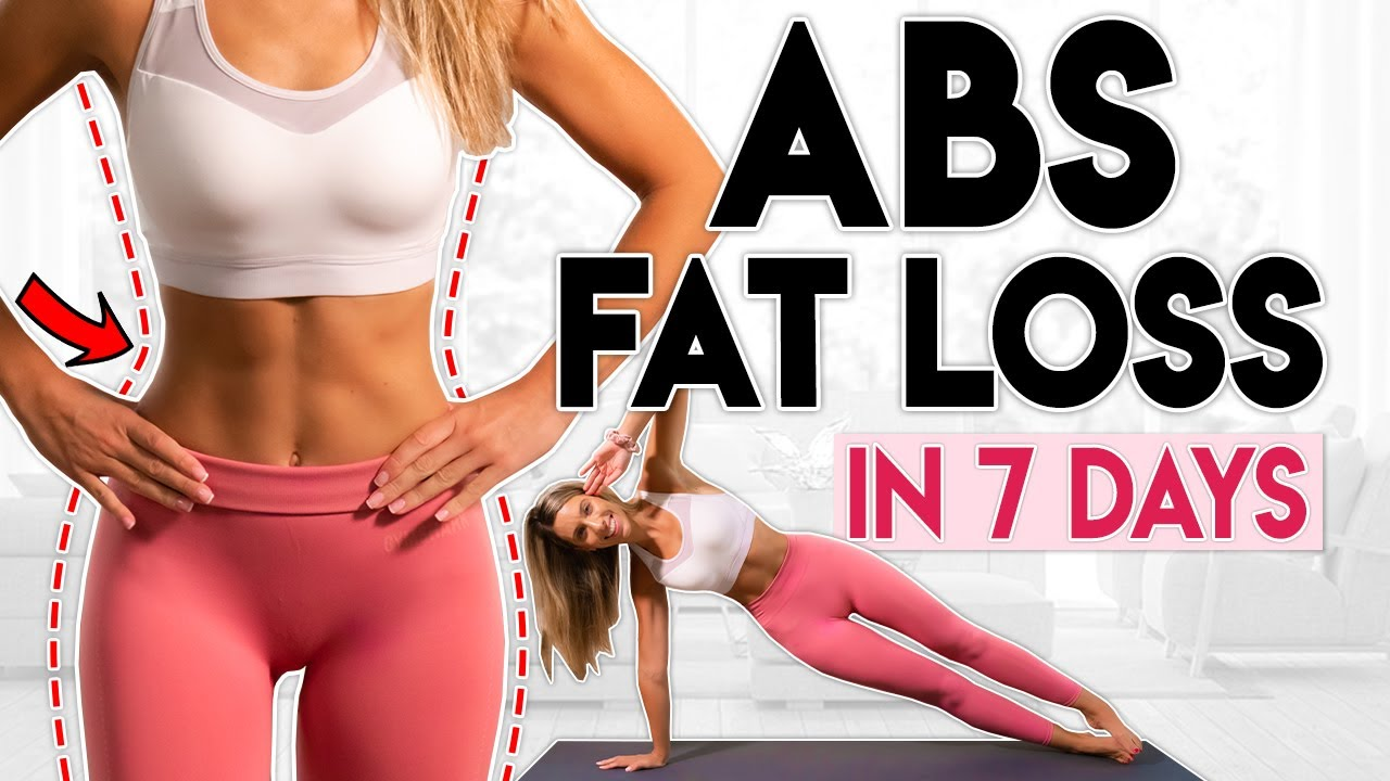 INTENSE ABS FAT LOSS in 7 Days (lose belly fat) | 10 minute Workout