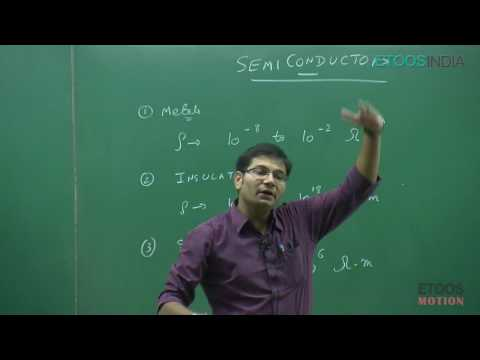 IIT JEE Main + Advanced I Physics I Semiconductor I Chirag KothariCK Sir From ETOOSINDIA COM