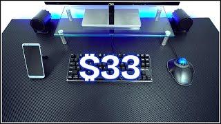 DIY Carbon Fiber Desk for $33!