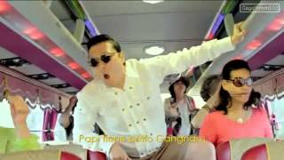 Repeat youtube video Gangnam Style Official Music Video - 2012 PSY with Oppan Lyrics & MP3 Download
