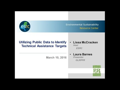 Utilizing Public Data to Identify Technical Assistance Targets