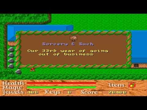 Sample  Game | God Of Thunder Game Sample Pc Dos Youtube