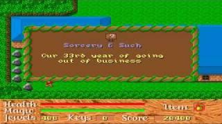 God of Thunder Game Sample - PC/DOS