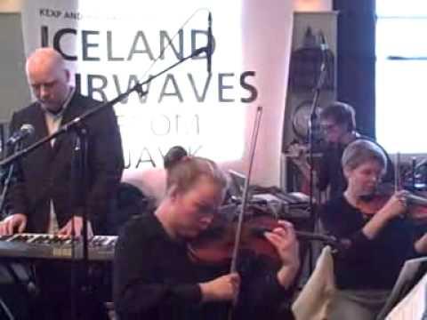 JÓHANN JÓHANNSSON - KEX, Reykjavík, 13th October 2011