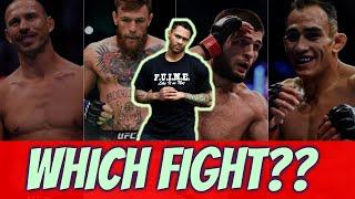 Conor vs Cerrone or Khabib vs Ferguson: Which Fight You Want To See More??
