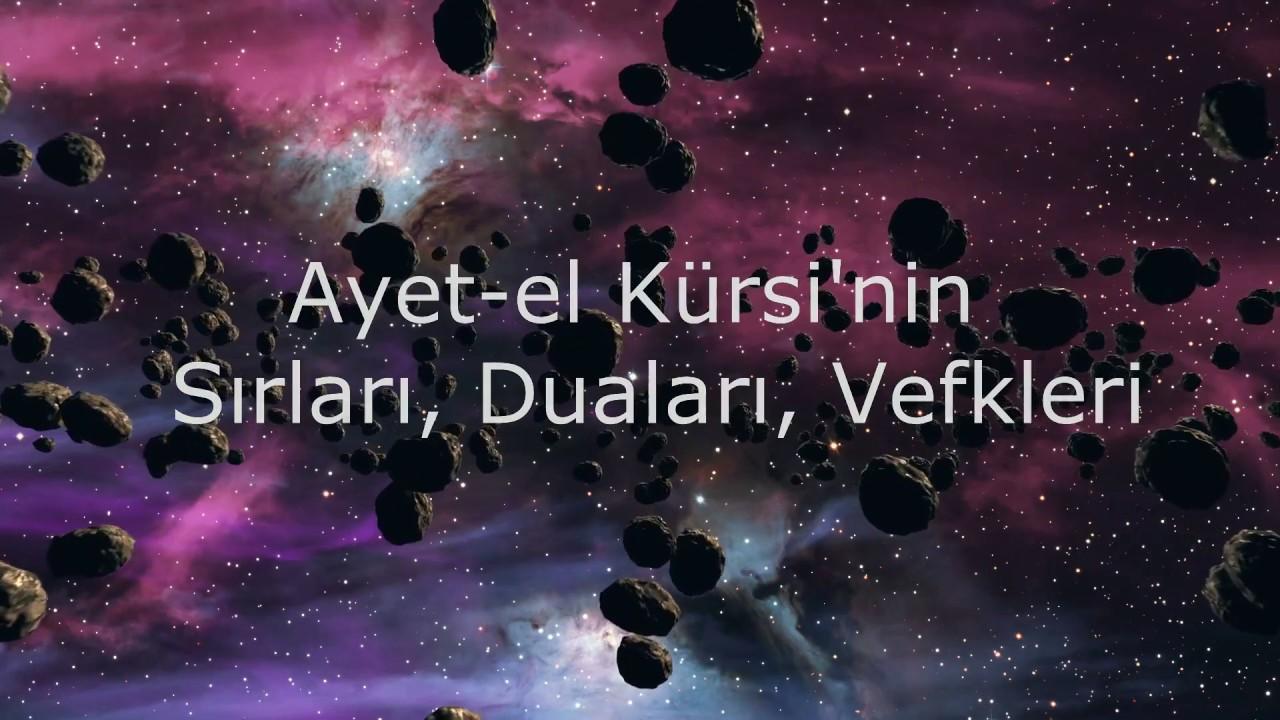 Ayete'l-Kürsi'nin Muhteşem Sırrı