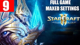 StarCraft 2 Legacy of the Void Walkthrough Part 9 Full Campaign HD Ultra Gameplay - Amon
