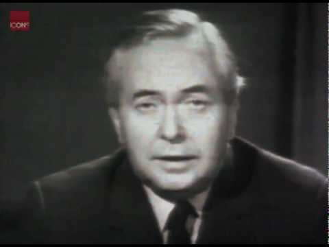 Harold Wilson talking about devaluation of the pound in your pocket