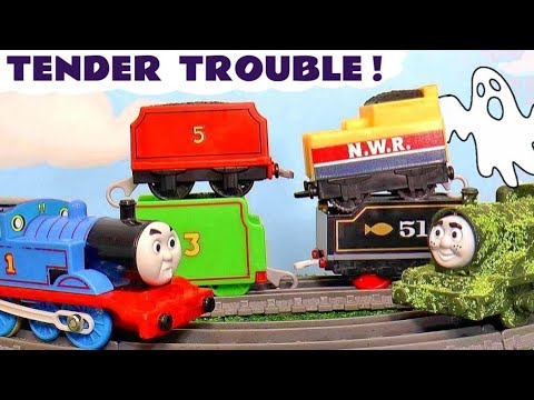 Toy Train TENDER Trouble Stories with Thomas and Friends Trains