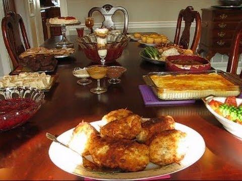 Betty's Christmas Dinner Table, 2012