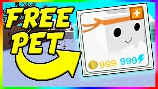 HOW TO GET A FREE PET IN PET SIMULATOR | Roblox