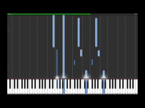 *TUTORIAL (Synthesia)* Naruto Shippuden - Experienced many battles - Piano Strings