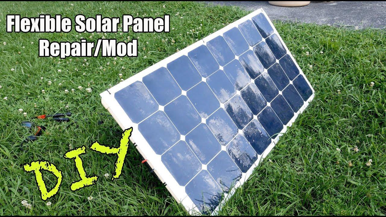 12 Volt Solar Panel Repair Mod Youtube