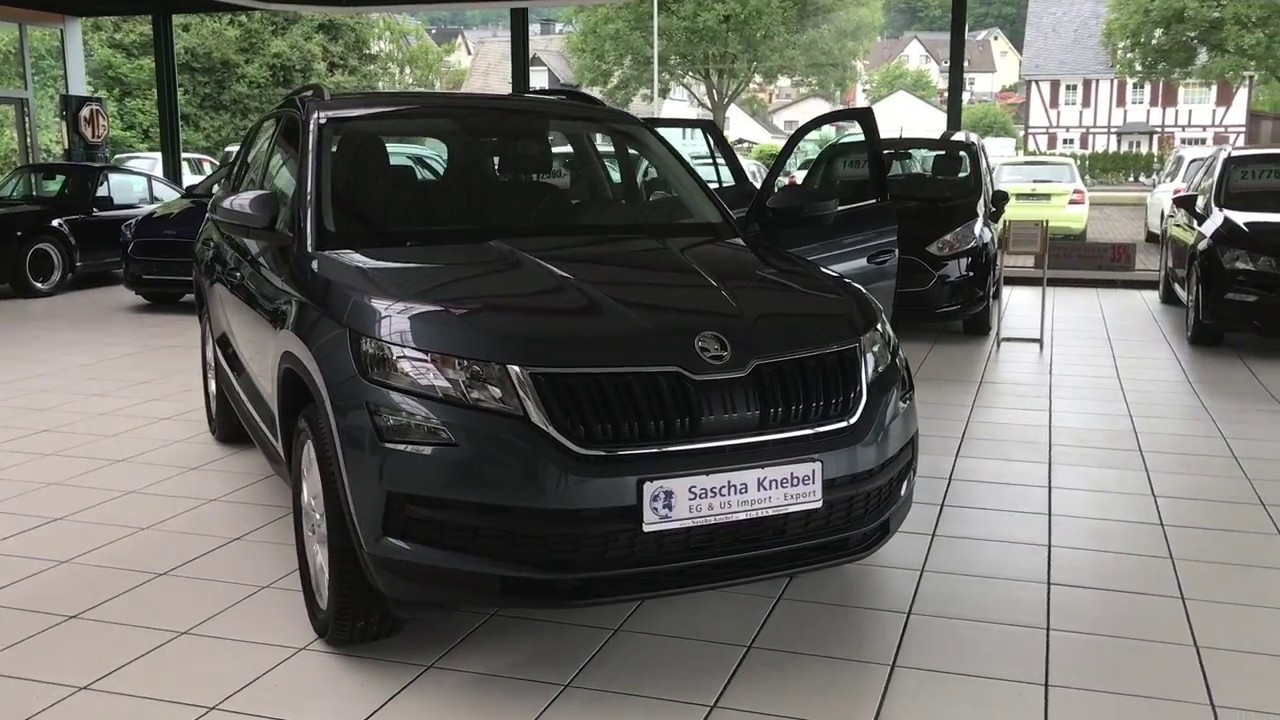 sascha knebel skoda kodiaq ambition youtube
