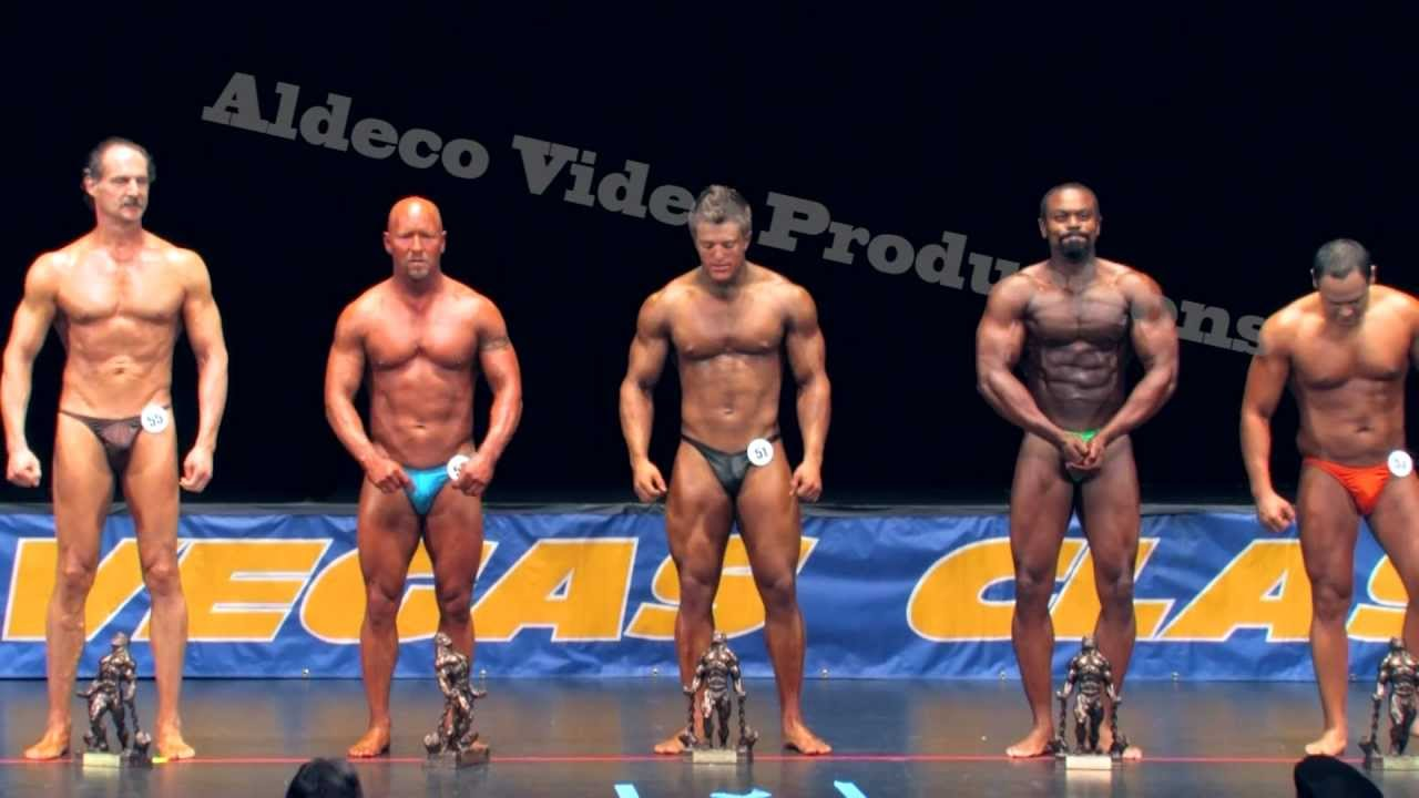 NPC Las Vegas Classic 2011 Middleweight Comparisons - YouTube