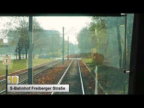 Straßenbahn Dresden 2018 Linie 10