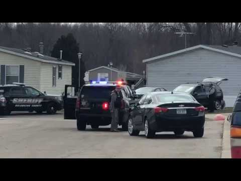 Michigan Police Standoff Ends In Hail of Gunfire