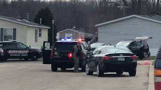 Michigan Police Standoff Ends In Hail of Gunfire