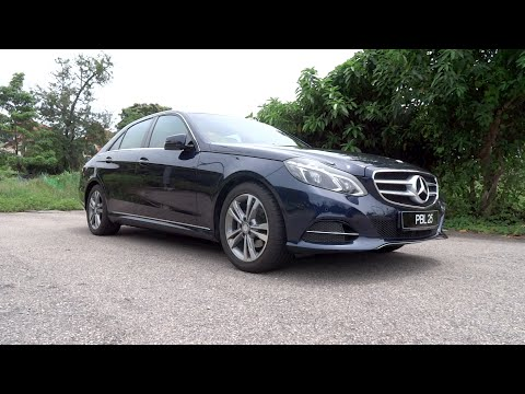 2014 Mercedes-Benz E 200 Avantgarde Start-Up and Full Vehicle Tour