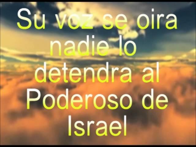 El Poderoso De Israel (Con Letra)