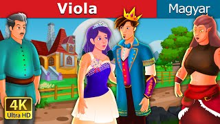 Viola | The Violet in Hungarian | Tündérmese | Esti mese | Hungarian Fairy Tales