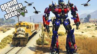 GTA 5: EXTREME TRANSFORMERS MOD! OPTIMUS PRIME!(Heute sind wir in GTA 5 als Transformer unterwegs! ▻Abonnieren für tägliche GTA 5 Videos: https://goo.gl/cxpOF5 ▻Die besten GTA 5 Mods: ..., 2016-11-04T15:39:25.000Z)