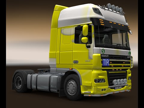 Euro Truck Simulator 2 - Amsterdam To Salzburg In DAF XF SPACE part 2
