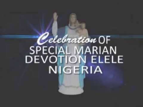 Celebration of Special Marian Devotion at The National Pilgrimage Centre Elele, Nigeria