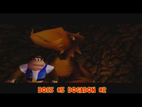 Donkey Kong 64 Boss Battle: Dogadon #2 - YouTube  Donkey Kong 64 ...