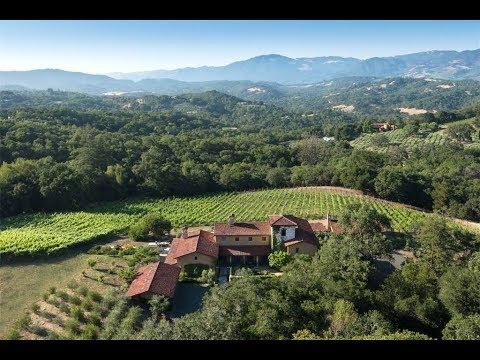 Mediterranean-Inspired Villa in Glen Ellen, California | Sotheby's International Realty