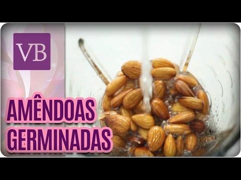 Amêndoas Germinadas + Leite de amêndoas - Você Bonita (09/09/16)