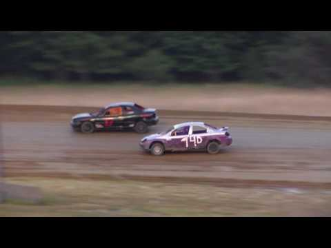 Dog Hollow Speedway - 7/22/16 Four Cylinder Heat Race #1