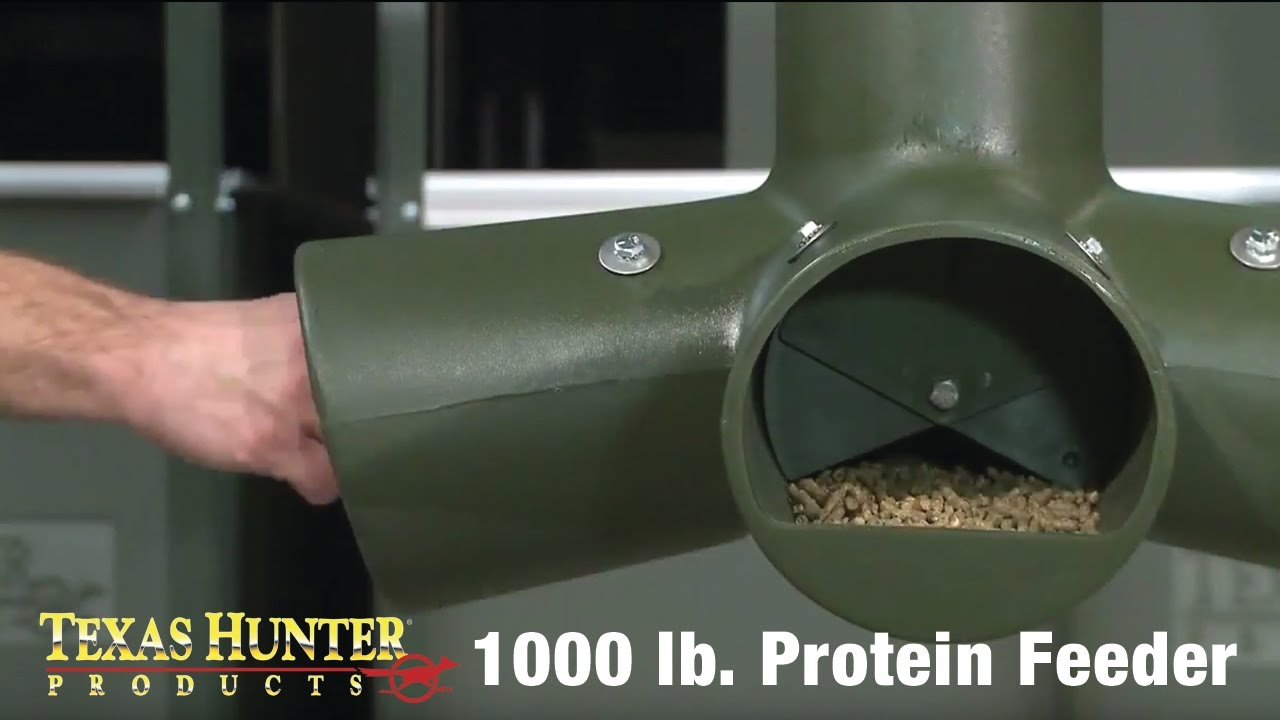 1 000 Lb Capacity Protein Gravity Feeder By Texas Hunter